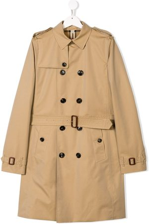 Burberry TEEN double breasted trench coat