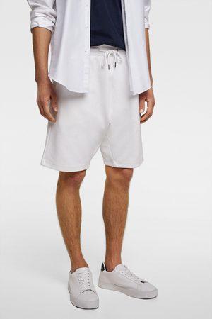 Zara Basic-bermudashorts im jogger-stil