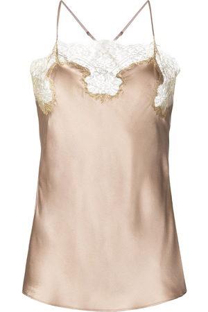 Gilda & Pearl Damen Unterhemden & Unterziehshirts - Gina silk camisole top