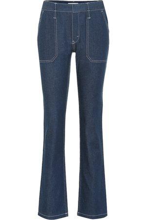 Chloé High-Rise Flared Jeans aus Baumwolle