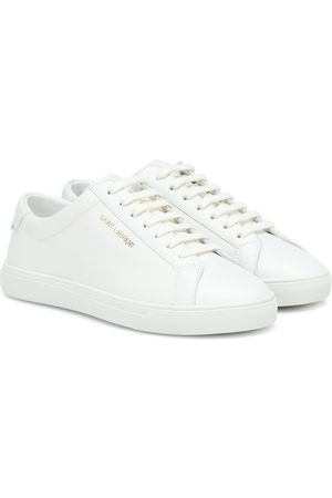 Saint Laurent Sneakers Andy aus Leder