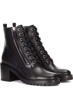 Gianvito Rossi Ankle Boots Croft aus Leder