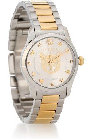 Gucci Uhr G-Timeless 27mm aus Edelstahl