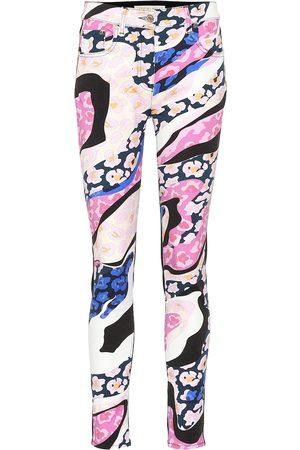 Emilio Pucci Bedruckte Jeans