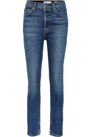 RE/DONE High-Rise Jeans Ankle Crop