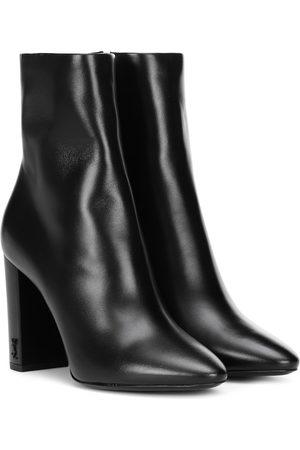 Saint Laurent Ankle Boots Lou 95 aus Leder