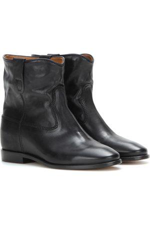 Isabel Marant Ankle Boots Cluster aus Leder