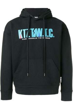 KTZ Mountain letter embroidered hoodie