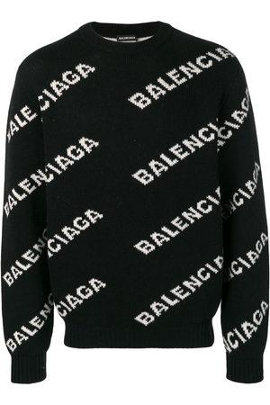 Balenciaga Herren Strickpullover - L/S CREWNECK