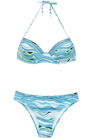 AMIR SLAMA Embroidered bikini