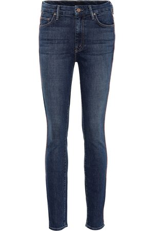 Mother Damen High Waisted - High-Rise Skinny Jeans The Looker