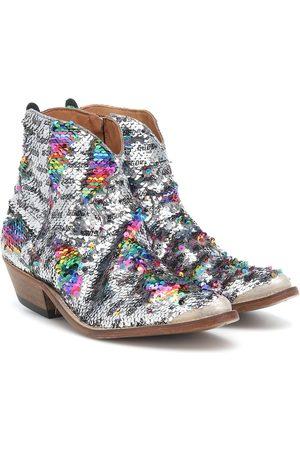 Golden Goose Ankle Boots mit Pailletten