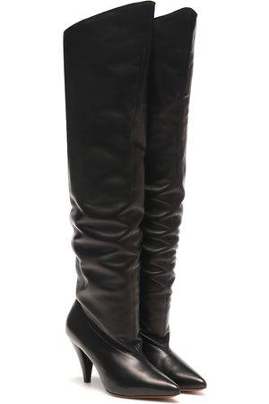 Givenchy Overknee-Stiefel aus Leder