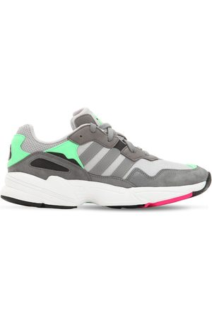 """adidas Sneaker Aus Leder Und Mesh """"yung-96"""""""