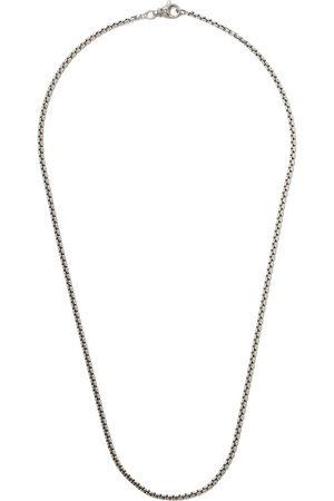 "David Yurman 24"" length small Box Chain necklace"
