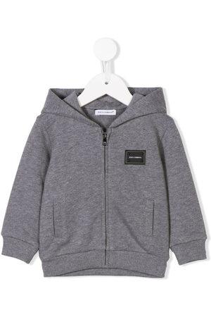 Dolce & Gabbana Zip-front hoodie