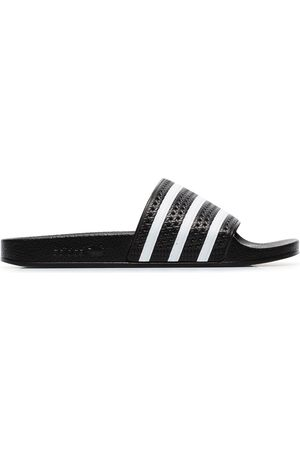 adidas And white Adilette slides