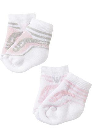 Armani Socken & Strümpfe - 2 Paar Socken Aus Baumwollstrick