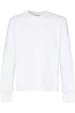 05feb4047e09 Thom Browne Herren Strickpullover - Center-Back Stripe Jersey Pullover