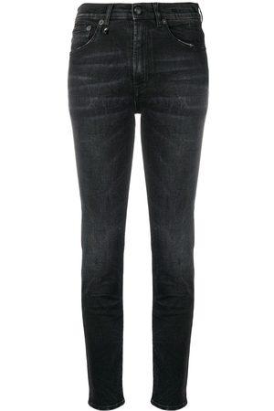 R13 High waisted skinny jeans