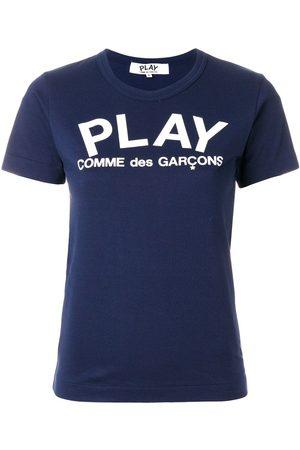 Comme des Garçons Damen Shirts - Slim fit logo T-shirt