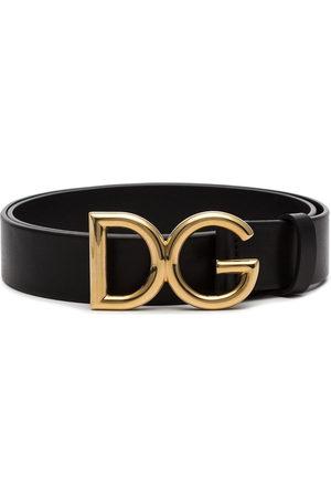 Dolce & Gabbana Herren Gürtel - Logo buckle leather belt