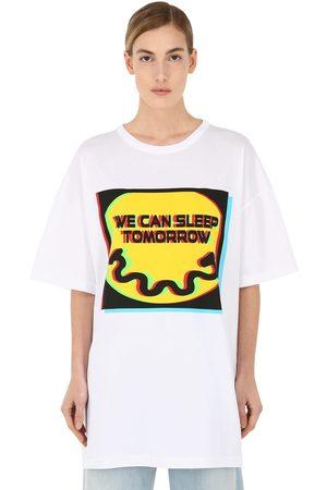 Maison Margiela Sleep Tomorrow Cotton Jersey T-shirt
