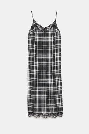 Zara CHECK DRESS