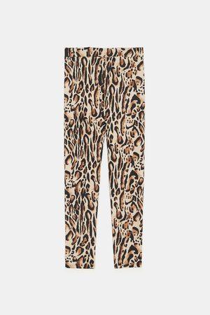 Zara LEGGINGS MIT TIER-PRINT