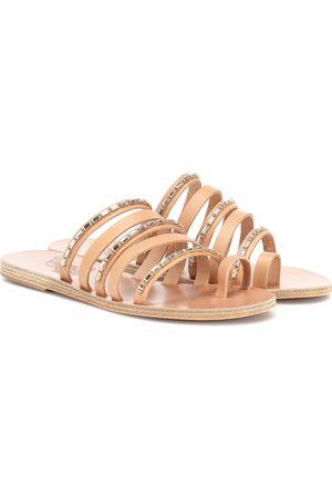 Ancient Greek Sandals Verzierte Sandalen Niki Chains