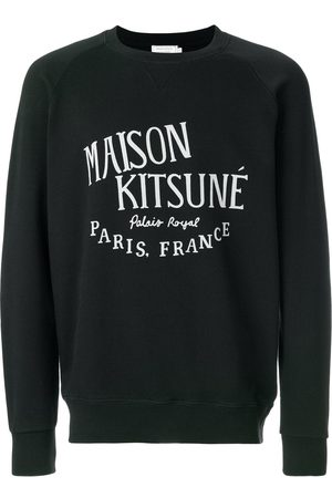 Maison Kitsuné Herren Sweatshirts - Logo print sweatshirt