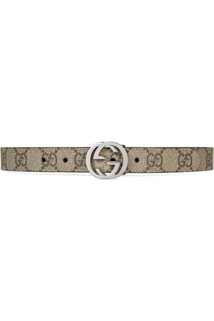 Gucci Kids Children's GG Supreme belt