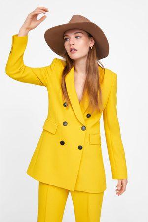 Zara Hut mit breiter krempe