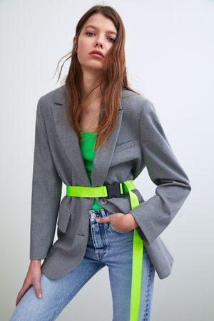 Zara Oversized blazer with belt