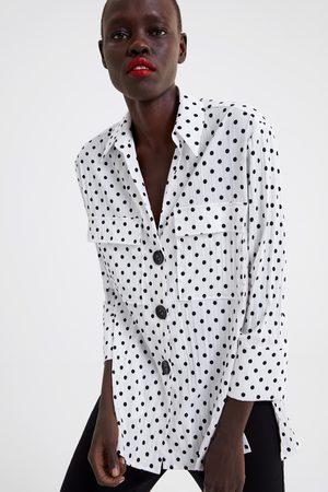 Zara Hemd mit tupfen
