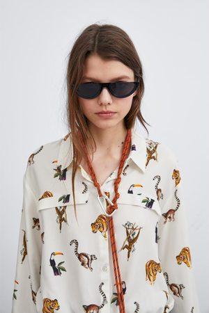 Zara Cropped-hemd
