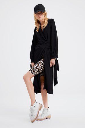Zara Leggings mit animalprint