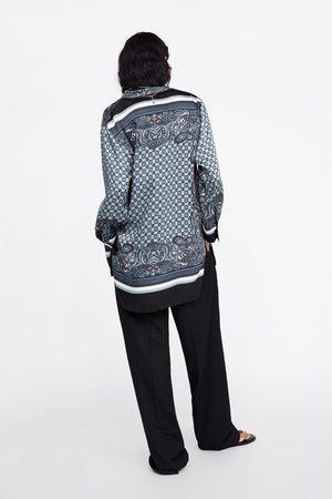 Zara Tunika mit print