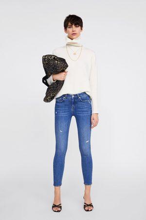 Zara Skinny-jeans zw premium in azure blue