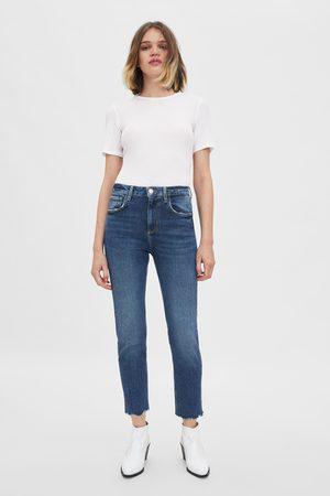 Zara Hi-rise slim fit jeans