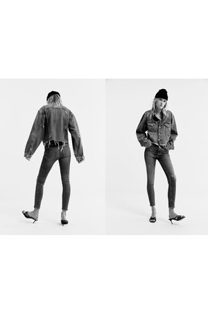 Zara High-waist-jeans zw premium 80's in venice blue