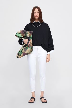 Zara Skinny-jeans z1975 mit asymmetrischem saum