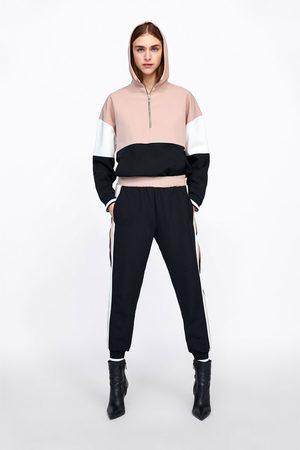 Zara Jogginghose mit seitenstreifen