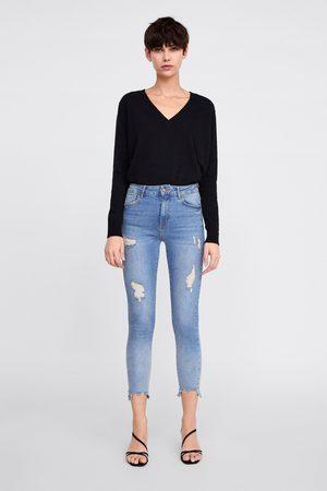 Zara Skinny-jeans z1975 mit hohem bund