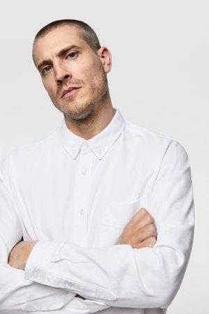 Zara Schlichtes jeanshemd