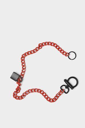 Zara Chain with padlock detail