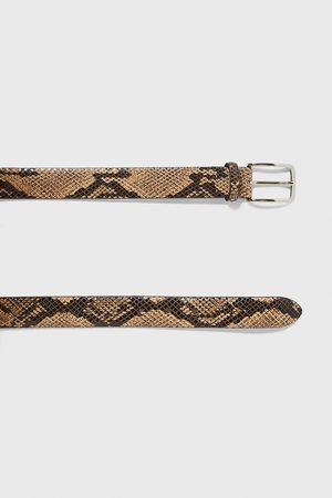 Zara Gürtel mit schlangenhautmuster