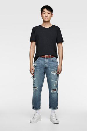 Zara Relaxed-fit-jeans im cropped-schnitt