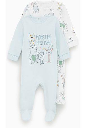 Zara 2er-pack schlafanzüge mit monstern