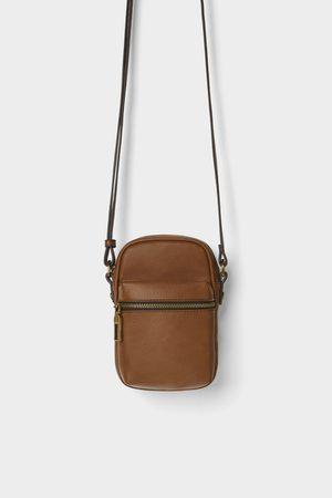 Zara Basic-umhängetasche im miniformat
